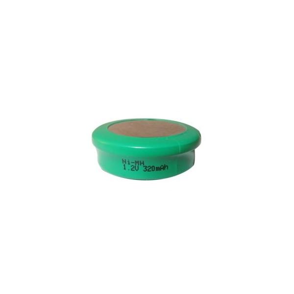 Pila botón NiMH 320 mAh - 1,2V - Evergreen
