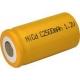 Pila NiCD C 2500 mAh Cabeza plana - 1,2V - Evergreen
