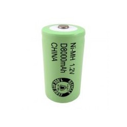 Pila LR20 / D recargable 8000 mAh - 1,2V - Evergreen