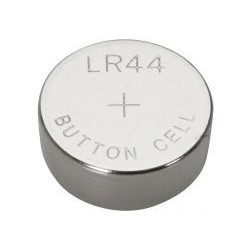 Pila botón alcalina LR44 / A76 - 1,5V