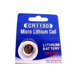 Pile bouton lithium CR1130 - 3V