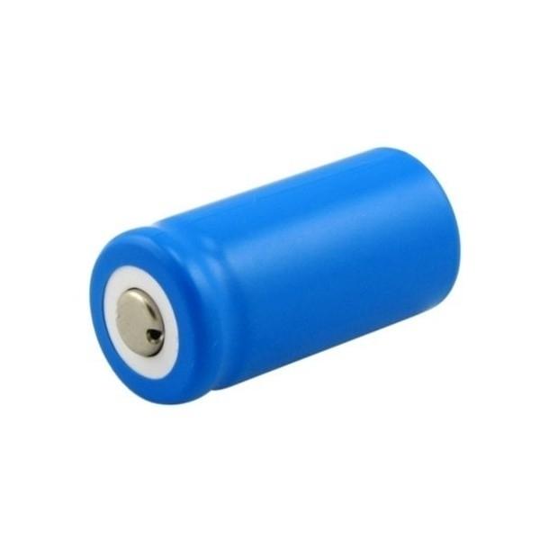 Pile rechargeable Li-Ion RCR123A - 3 V - 600 mAh