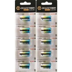 10 x Pilas alcalina 4LR44 / A544 / PX28 / 476A - 6V Cellectron