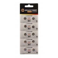 AG2 10 pila botón alcalina AG2 / LR726 / 396 1,5V Cellectron