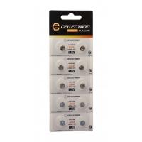 AG4 10 pila botón alcalina AG4 / LR626 / 377 1,5V Cellectron