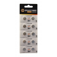AG7 10 pila botón alcalina AG7 / LR927 / 395 1,5V Cellectron