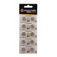 AG10 10 pila botón alcalina AG10 / LR1130 / 389 1,5V Cellectron