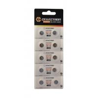 SR736 10 Pila botón Óxido de plata SR736 / SR41/392 / 1,55V Cellectron