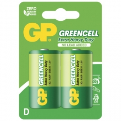 Pila salina 2 X D / R20 - 1,5V GP Battery