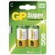 Pila alcalina 2 x C / LR14 - 1,5V - GP Battery
