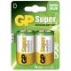 Pila alcalina 2 x D / LR20 - 1,5V - GP Battery