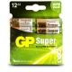 Pilas alcalina 12 x AA / LR6 1.5 V - GP Battery