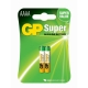 Pilas alcalina 2 x AAAA / LR61 SUPER - 1,5V - GP Battery