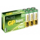 Pilas alcalina 16 x AA / LR6 SUPER - 1,5V - GP Battery