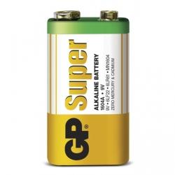 Pilas alcalina 1 x 9V / 6LF22 SUPER - 9V - GP Battery