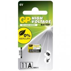 Pilas cilíndrica alcalina 1 x 11A / MN11 - 6V - GP Battery