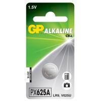 Pila botón alcalina 1 x GP 625A / LR9 / V625U - 1,5V - GP Battery