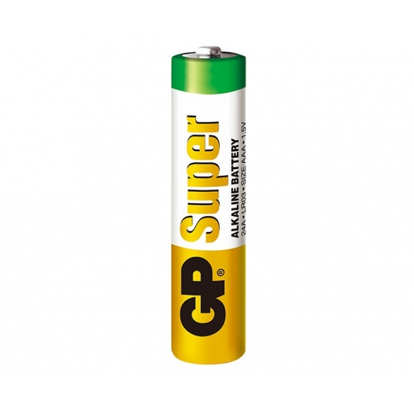 Pilas alcalina 2 x AAA / LR03 SUPER - 1,5V - GP Battery