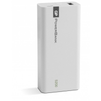 Batería portátil Yolo 5200 mAh, 1C05A, Blanco