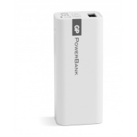 Batería portátil Yolo GP 1C02A 2600mAh In 1A / Out 1A / Li-Ion, Blanco