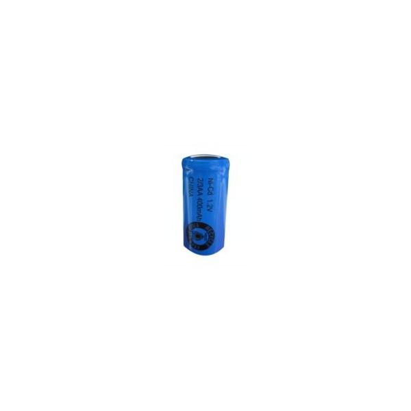 Pila NiCD 2/3 AA 400 mAh Cabeza plana - 1,2V - Evergreen