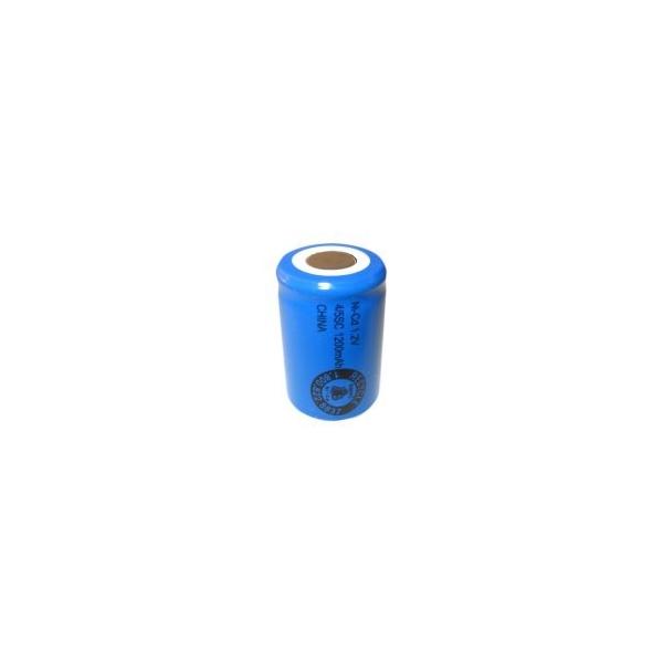 Pila NiCD 4/5 Sub C 1200 mAh Cabeza plana - 1,2V - Evergreen