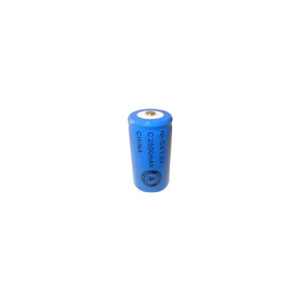 Pila NiCD C 2500 mAh - 1,2V - Evergreen