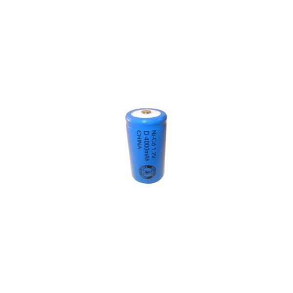 Pila NiCD D 4000 mAh - 1,2V - Evergreen