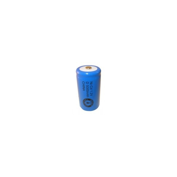 Pila NiCD D 5000 mAh - 1,2V - Evergreen