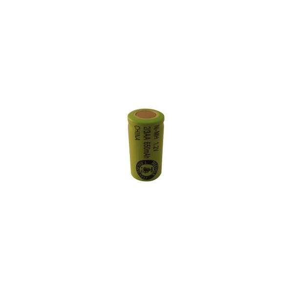 Pila NiMH 2/3 AA 650 mAh Cabeza plana - 1,2V - Evergreen