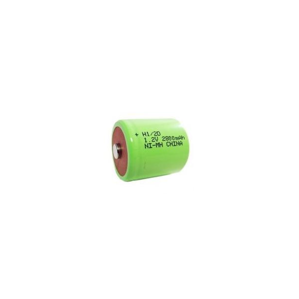 Pila NiMH 1/2 D 2800 mAh - 1,2V - Evergreen