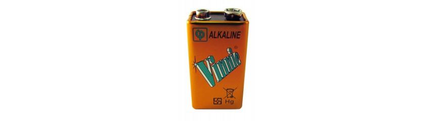 Pilas alcalinas 6LR61 - 9V